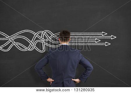 Arrow Solution Concept Working Conceptual Business Concept