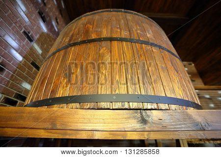 Oak Barrel For Beer