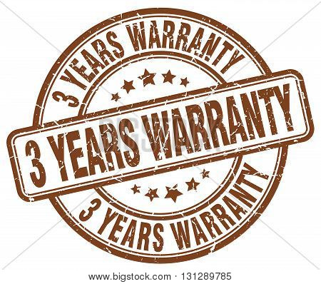 3 years warranty brown grunge round vintage rubber stamp.3 years warranty stamp.3 years warranty round stamp.3 years warranty grunge stamp.3 years warranty.3 years warranty vintage stamp.