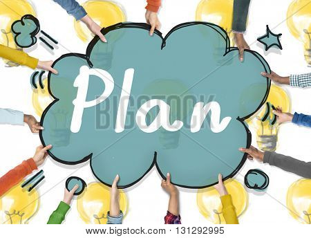 Plan Planning Objective Design Ideas Process Concept