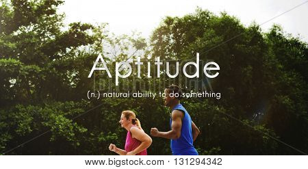 Aptitude Natural Human Ability Graphic Concept