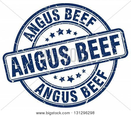 angus beef blue grunge round vintage rubber stamp.angus beef stamp.angus beef round stamp.angus beef grunge stamp.angus beef.angus beef vintage stamp.
