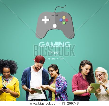 Gaming Playing Problems Joystick Device Concept