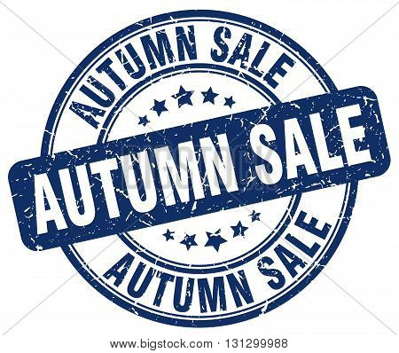 autumn sale blue grunge round vintage rubber stamp.autumn sale stamp.autumn sale round stamp.autumn sale grunge stamp.autumn sale.autumn sale vintage stamp.