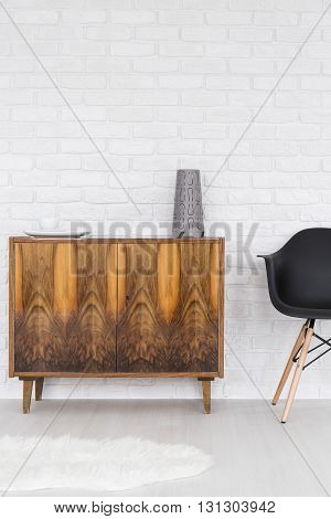 Trendy Wooden Commode On Legs