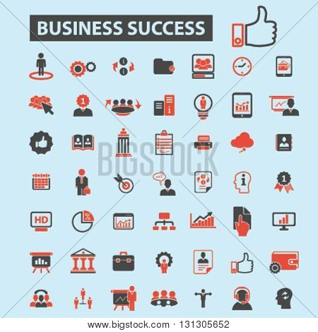 business success icons