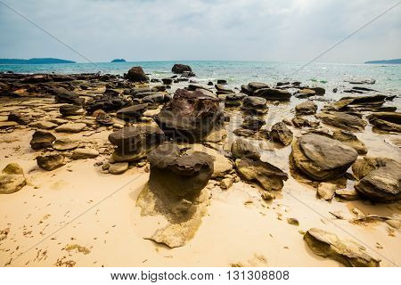 Tropical Landscape Of Koh Rong