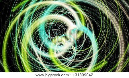 Fantastic elegant eco wave background design illustration