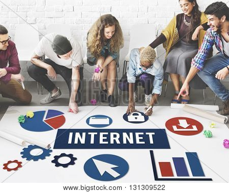 Internet Wireless Internet Networking Online Concept