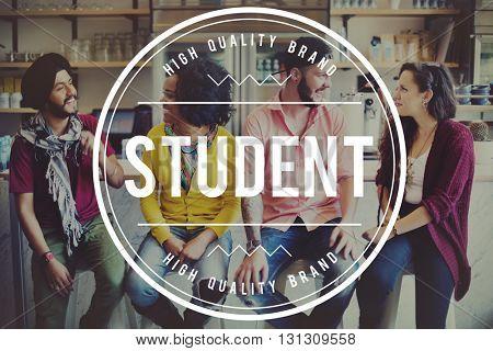 Student Class University Campus Education Concept