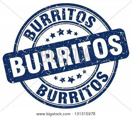 burritos blue grunge round vintage rubber stamp.burritos stamp.burritos round stamp.burritos grunge stamp.burritos.burritos vintage stamp.