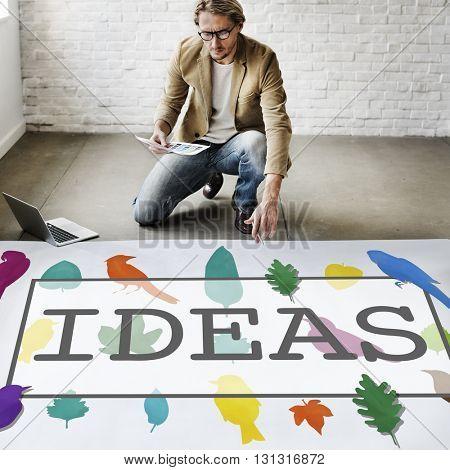 Ideas Create Creative Creativity Thoughts Concept