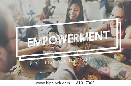 Empowerment Enable Improvement Liberate Concept