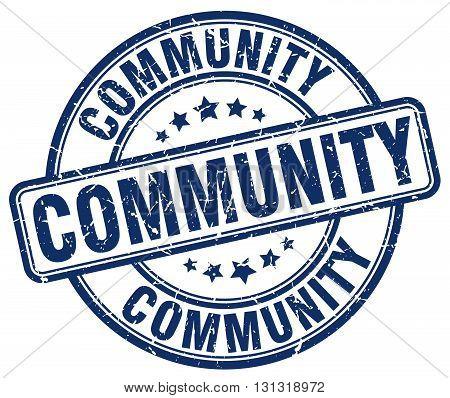 community blue grunge round vintage rubber stamp.community stamp.community round stamp.community grunge stamp.community.community vintage stamp.