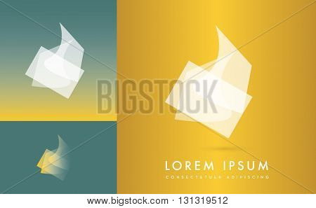 ABSTRACT CORPORATE TRANSPARENT VECTOR , LOGO / ICON