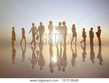 Business People Corporate Professional Occupation Concept