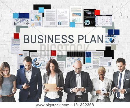 Business Plan Planning Process Vision Concept