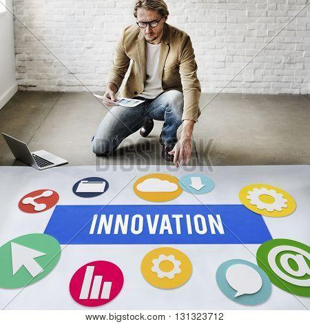 Innovation Invention Futurism Development Concept