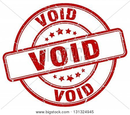 Void Red Grunge Round Vintage Rubber Stamp.void Stamp.void Round Stamp.void Grunge Stamp.void.void V