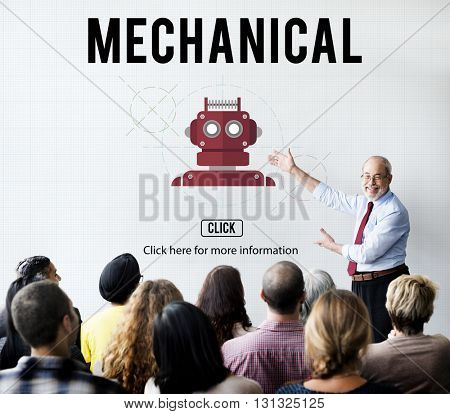Mechanical Engineering Engine Industrial Machine Concept