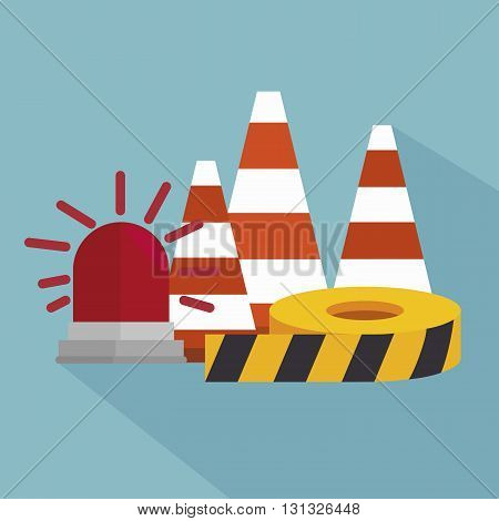 safety equipment design, vector illustration eps10 graphic
