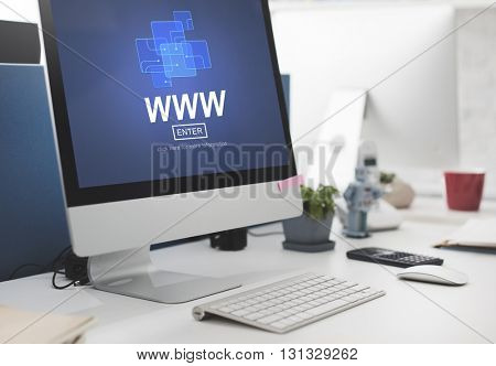 WWW Website Online Internet Web Page Concept