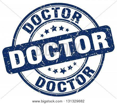 doctor blue grunge round vintage rubber stamp.doctor stamp.doctor round stamp.doctor grunge stamp.doctor.doctor vintage stamp.