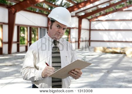 Construction Inspector - Suspicious