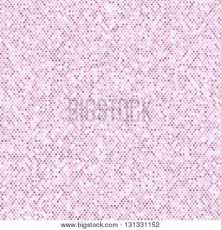 Comics Book Background. Halftone Pattern. Pink Dotted Background