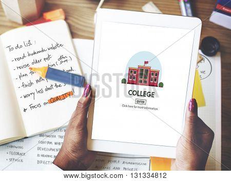 College Academic School Student Concept