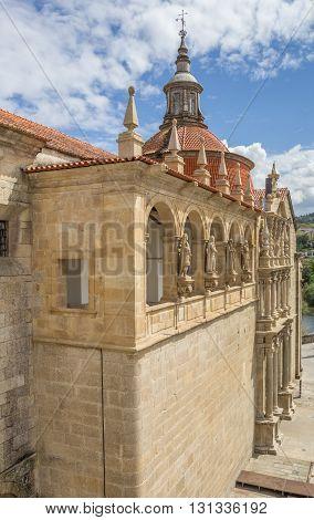 Facade Of The Saint Goncalo Church In Amarante