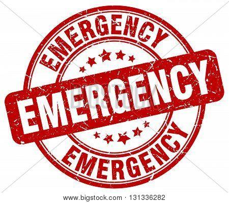 emergency red grunge round vintage rubber stamp.emergency stamp.emergency round stamp.emergency grunge stamp.emergency.emergency vintage stamp.