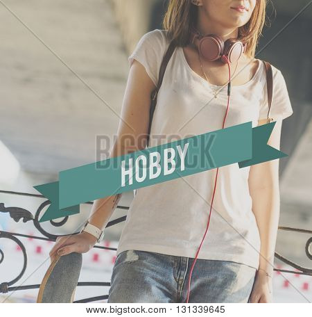 Hobbies Hobby Interests Recreation Concept