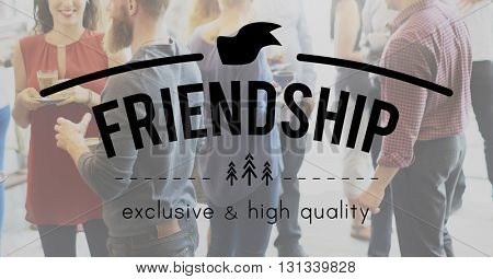 Friends Friendship Connection Togetherness Relationship Community Concept