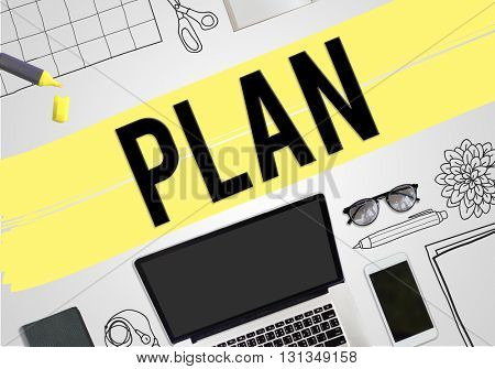 Plan Planning Project Business Concept
