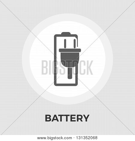Battery Icon Vector. Battery Icon Flat. Battery Icon Image.  Battery Icon Object. Battery Icon Graphic. Battery Icon Picture.
