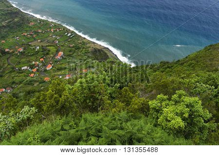 North coast of Madeira Island, Portugal, Europe