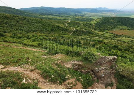 Alpine landscape in the Transylvanian Alps, Romania