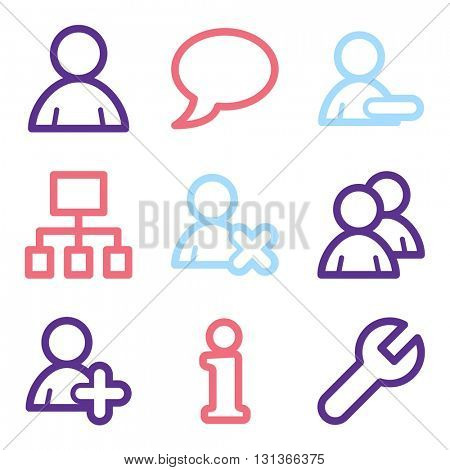 Users web icons