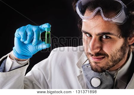 Green Vial Discovery