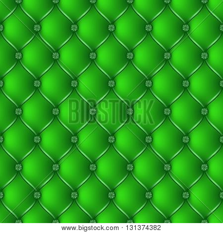 Vector abstract upholstery green background. Can be used in cover design book design website background CD cover advertising.