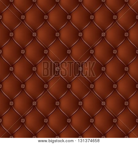 Vector abstract upholstery chocolate background. Can be used in cover design book design website background CD cover advertising.