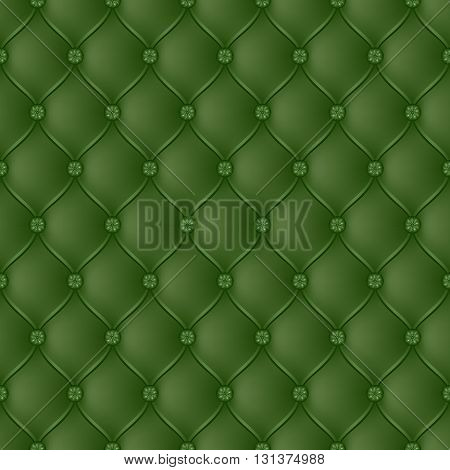 Vector abstract upholstery green background. Can be used in cover design book design website background CD cover advertising