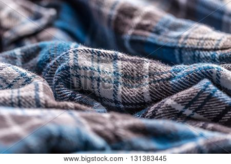 Close up of shirt textile texture, background