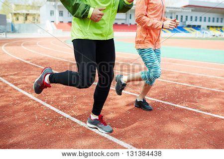 Training before marathon