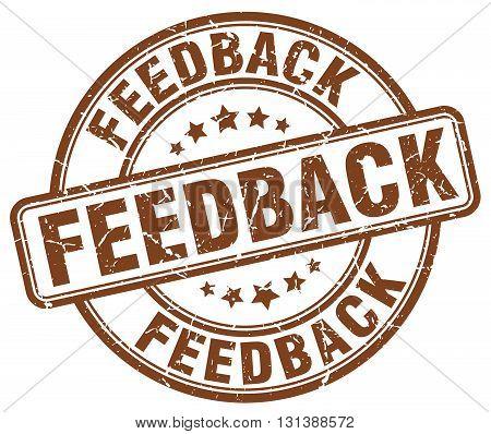 feedback brown grunge round vintage rubber stamp.feedback stamp.feedback round stamp.feedback grunge stamp.feedback.feedback vintage stamp.