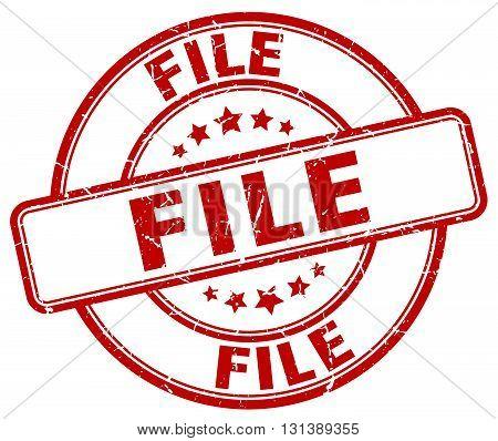 file red grunge round vintage rubber stamp.file stamp.file round stamp.file grunge stamp.file.file vintage stamp.