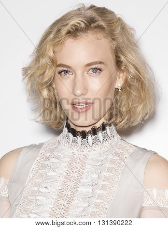 New York City USA - May 24 2016: Zanita Whittington attends Swarovski #bebrilliant event at The Weather Room - Rockefeller Center