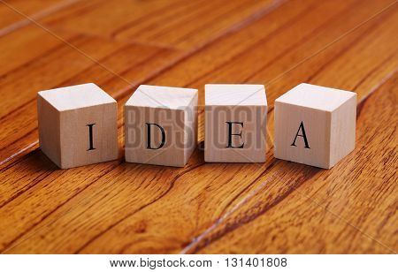 Idea Word Concept