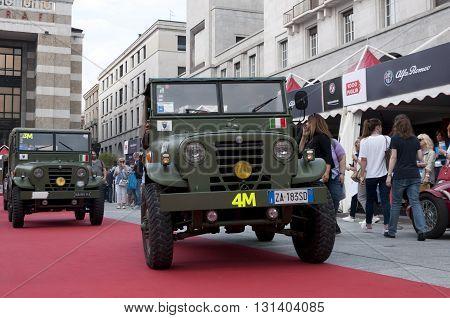 BRESCIA, ITALY - MAY 18: ALFA ROMEO 1900 AR 51